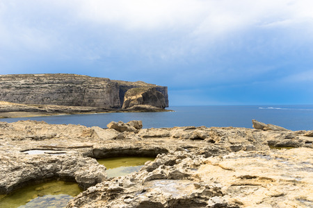 Fungus rock, a small 60 metre high rock also known as the Generals Rock Stock Photo