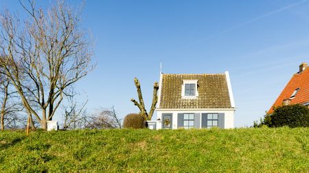 One of many dike houses in Durgerdam, nice little town next to Amsterdam