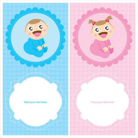new born baby boy: baby shower cards