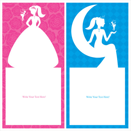 Birthday princess invitation royalty free cliparts vectors and princess birthday card vector stopboris Choice Image