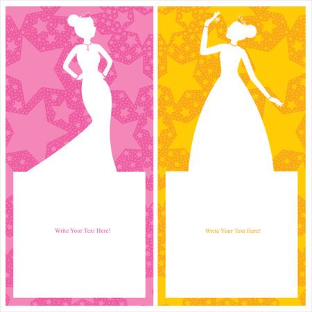 beauty queen: princess card invitation