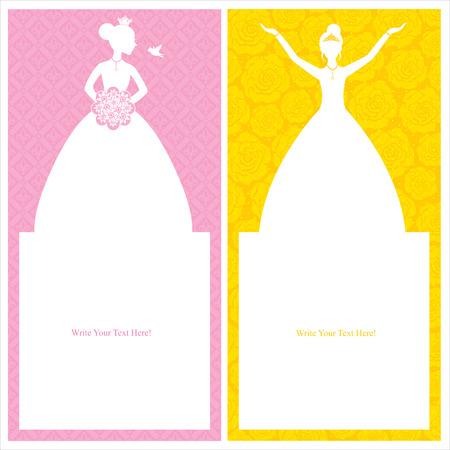 princess cards template
