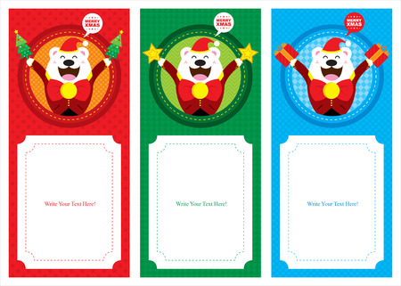 Christmas Polar bear banner