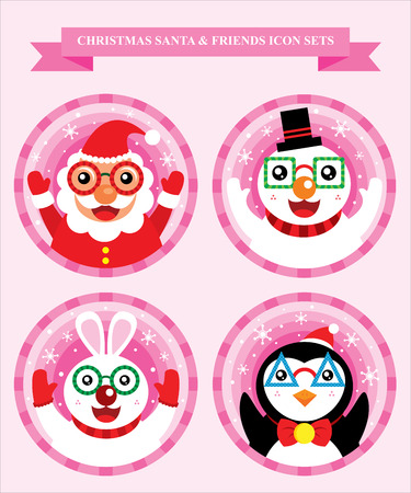 Christmas Icon Sets Vector