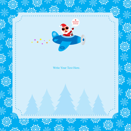 wish list: Christmas Card with Santa Claus