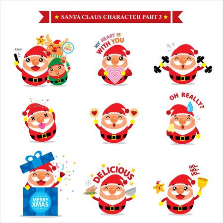 claus: Santa Claus character sets