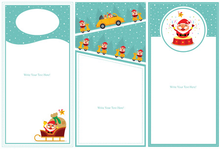 wish list: Christmas invitation card sets Illustration