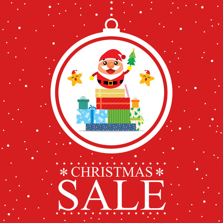 promo: Christmas Promo Santa Claus Illustration