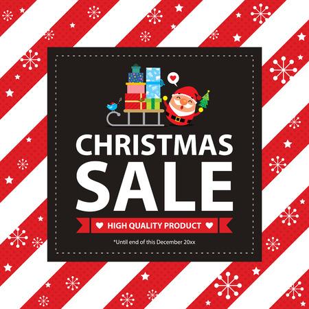 Vente de Noël Carte Banque d'images - 46483635