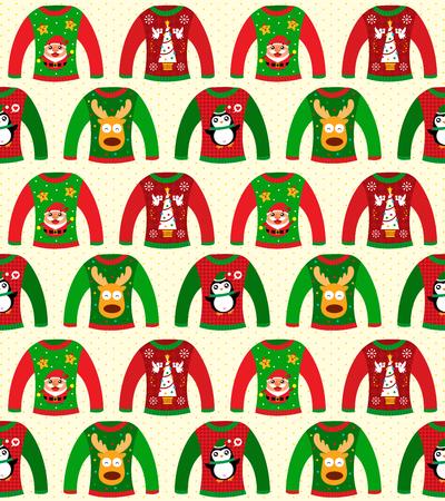 sueter: sin fisuras su�ter de la Navidad