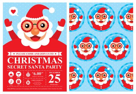 secret love: Christmas Card Invitation