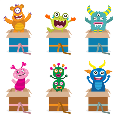 surprise box: Surprise Monsters from Box