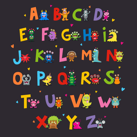 hideous: Cute Monsters Alphabet