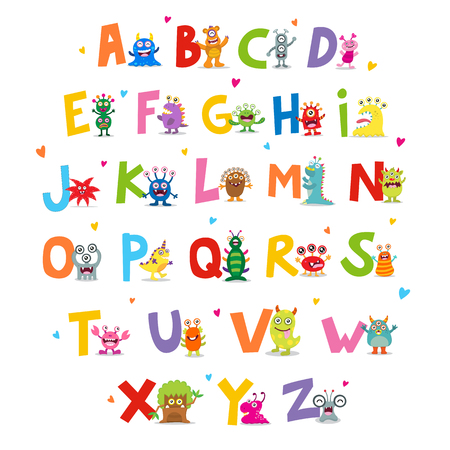 horrid: Cute Monsters Alphabet