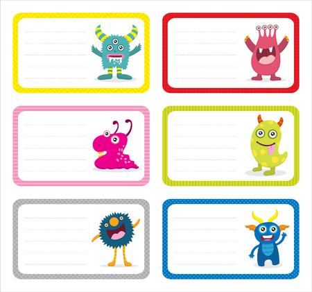Cute Monster Card Sets
