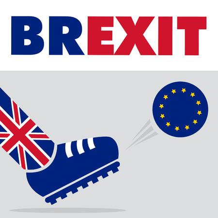 kick out: Brexit