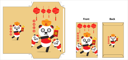 Chinese new year packet design