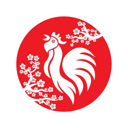 prosperidad: Logo Gallo chino