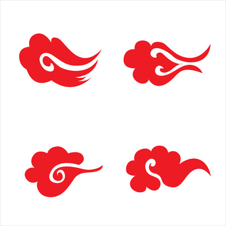 auspicious sign: chinese traditional cloud symbol