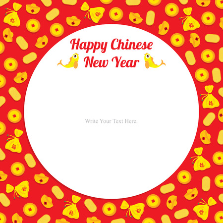 chinese new year card: chinese new year template