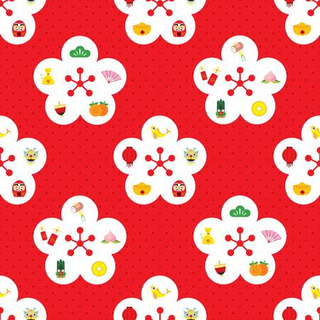 chinese new year seamless