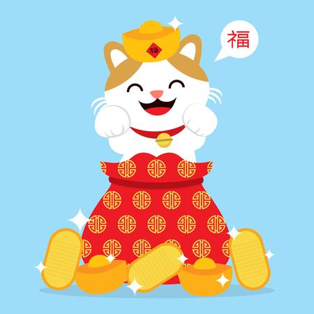 neko: lucky cat card