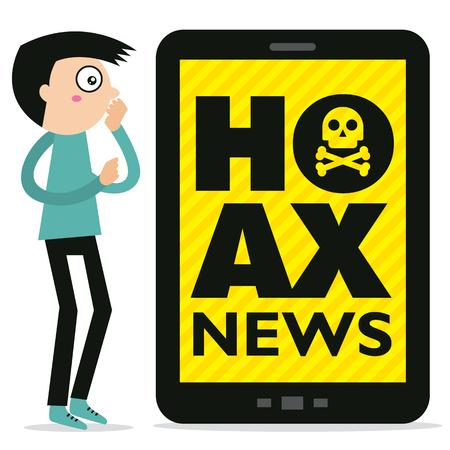 Hoax news
