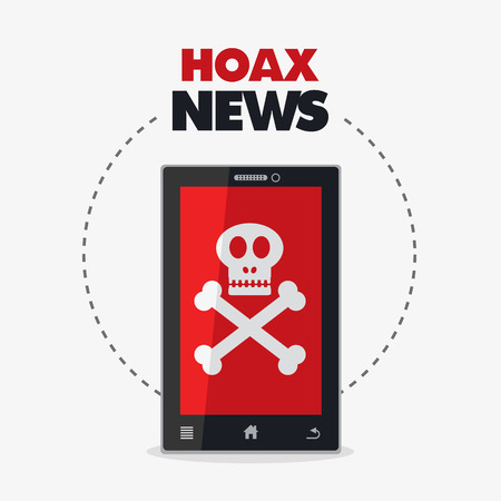 scammer: Hoax news.