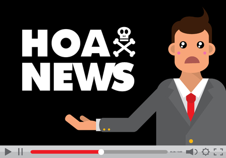dishonest: Hoax video Illustration