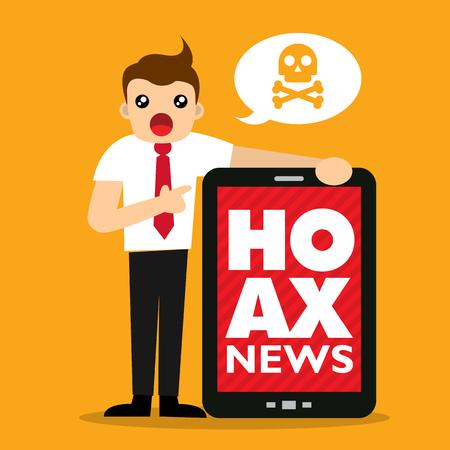 scammer: hoax news