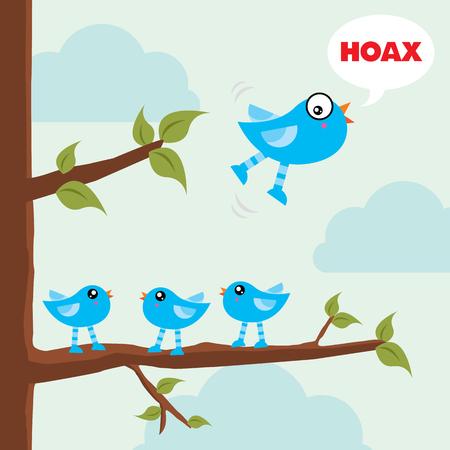 hoax: Hoax illustration
