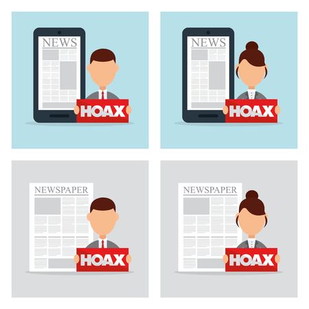 scammer: hoax icon