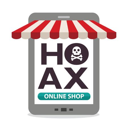 scammer: hoax online shop