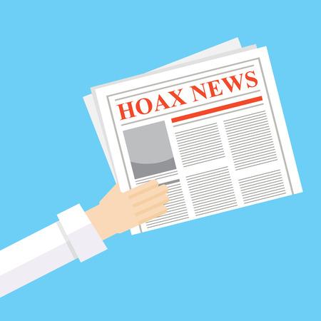 Hoax newspaper