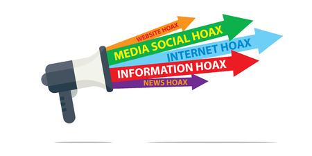 Hoax icon.