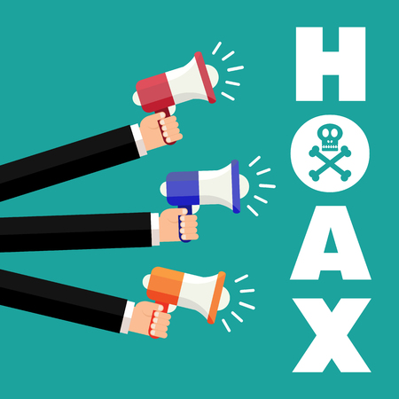 Hoax icon.