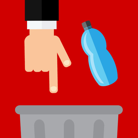 utilize: Dont litter sign Illustration