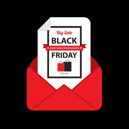 black friday sale email.