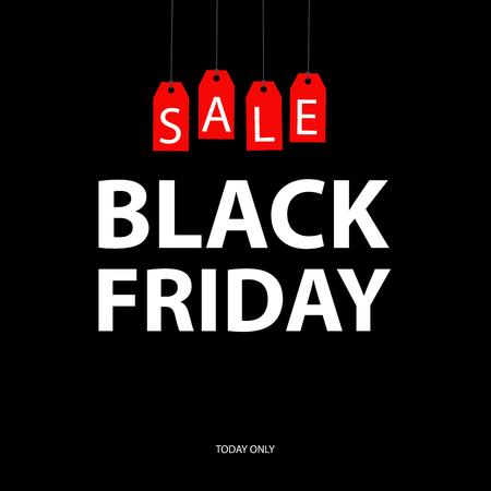 A black friday sale card.