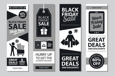 grand sale sticker: black friday sale sign Illustration