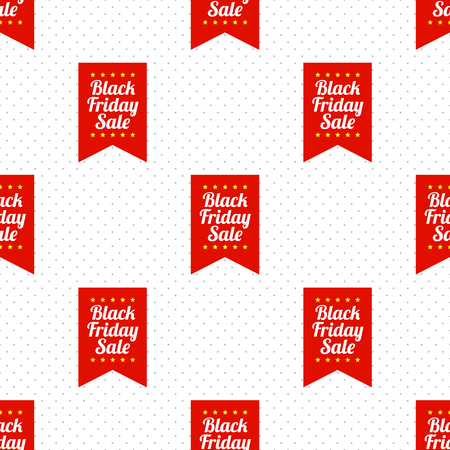 discount banner: Black friday seamless background