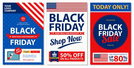grand sale sticker: black friday poster vector illustration.
