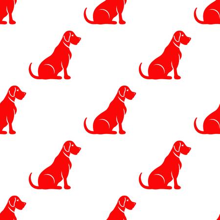 labrador dog seamless