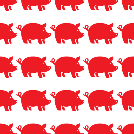 pigs seamless pattern