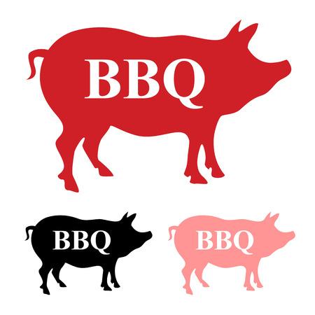 pig icon vector Illustration