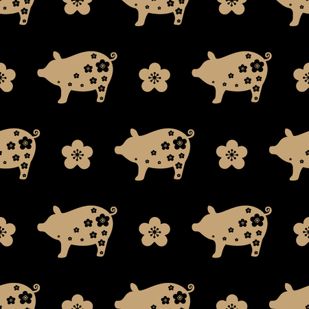 pig year seamless