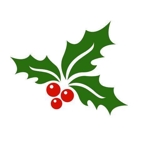 Mistletoe icon vector. Vektoros illusztráció