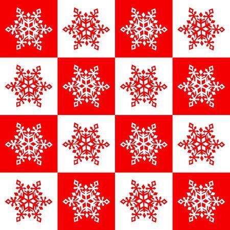 Christmas snowflake seamless.