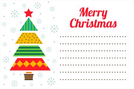 Christmas greetings card.