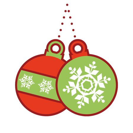 Christmas jingle bulb icon.